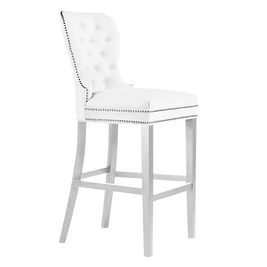 Glass Wood Dining Table, Charlotte Stool High Gloss White Bar Stools Dining Room Chairs Bar Stools Dining Room Furniture Z Gallerie