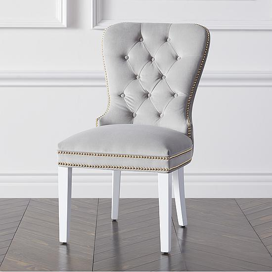 Charlotte Dining Chair - High Gloss White