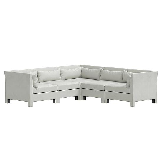 Rachelle 5 PC Corner Sectional
