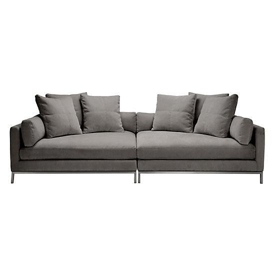 Ventura Extra Deep Sofa 2 Piece Couch Z Gallerie