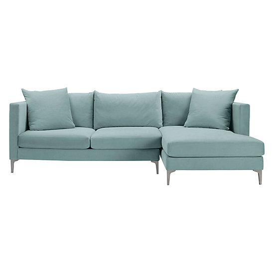 Details Track Arm Chaise Sectional - 2PC