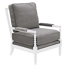 Spindle Chair - High Gloss White