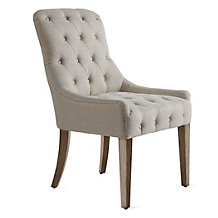 Jen Dining Chair - Natural Grey