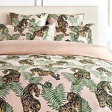 Tigress Bedding - Blush