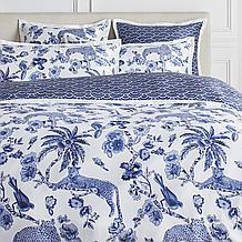 Cameo Bedding - Blue/White