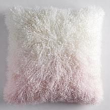 Ombre Mongolian Pillow 22
