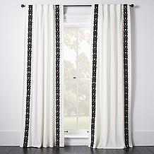 Chloe Border Window Panel - Velv...