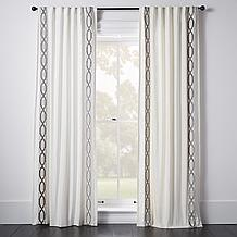 Chloe Border Window Panel - Geom...