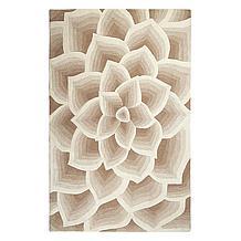 Rose Rug - Natural/Ivory