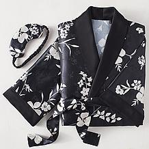 Magnolia Robe Set - Black