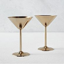 Oro Martini Glasses - Set of 2