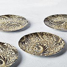 Flora Appetizer Plate Set