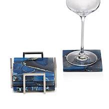 Mallorca Agate Coaster Set