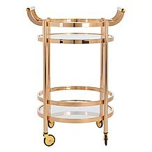Sierra Bar Cart - Gold