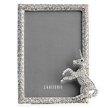 Jeweled Unicorn Frame