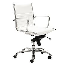 Darby Low Back Office Chair - White
