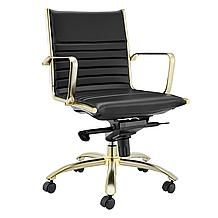 Darby Low Back Office Chair - Bl...