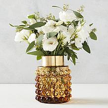 Bubble Vase - Amber