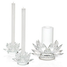 Crystal Lotus Candlelight Collec...