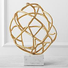 Abstract Globe On Stand