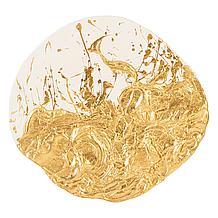 Wisp Wall Tile - Gold/White