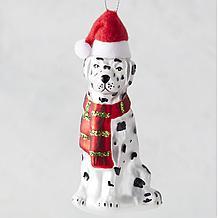 Holiday Dog Ornament - Dalmatian