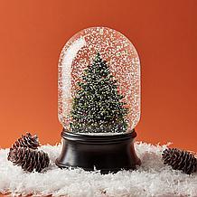 Winter Pine Snow Globe