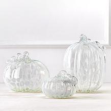 Glass Swirl Pumpkin