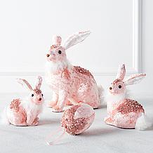 Velvet Bunny And Egg