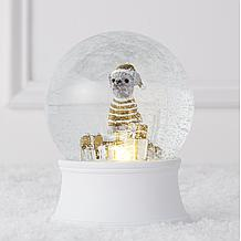 Once Upon Frenchie Snow Globe