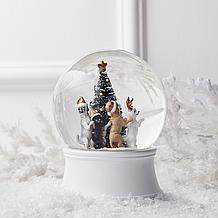 Merry Dogs Snow Globe