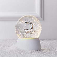 Leaping Reindeer Snow Globe