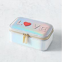 Love Mini Travel Jewelry Box