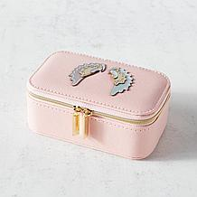 Wings Mini Travel Jewelry Box