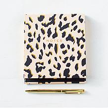 Cheetah Notepad With Pen