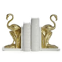 Flamingo Bookends