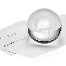 Crystal Skull Paperweight