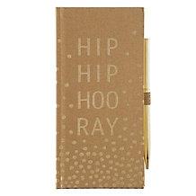 Hip Hip Hooray Journal