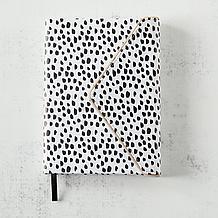 Dalmation Zippered Edge Journal