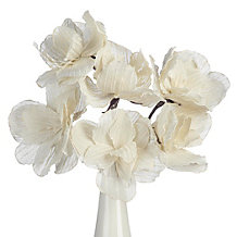 Faux Linen Classic Flower - Set ...