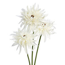 Faux Dahlia Stem - Set of 3