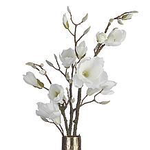Faux Magnolia Stem - Set of 3
