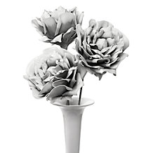 Faux Village Flower - Set of 3