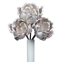 Faux Large Magnolia Stem - Set of 3