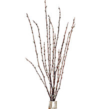 Faux Pussy Willow Spray - Set of 3