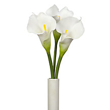 Faux Calla Lily Stem - Set of 3