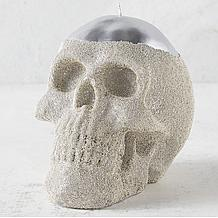 Skull Candle - Silver