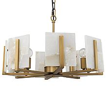 Amaya Chandelier - Brass