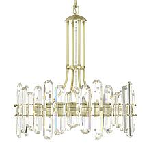 Fallon 8 Light Chandelier - Aged...