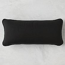Canvas Outdoor Lumbar Pillow